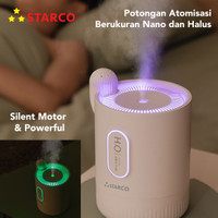 Starco Cactus Aroma Humidifier Diffuser 2 in 1 Night Lamp 330 ml