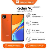 "Xiaomi Official Redmi 9C 4/64GB 6.53"" HD Mi Smartphone AI Face Unlock"
