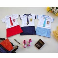 Jumper Bayi Dress Bayi Seragam Baju Bayi SD SMP SMA