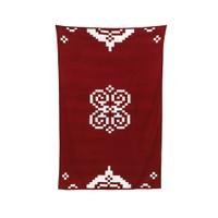 Selimut Blanket Kirapassa pa'kangkung merah maroon