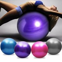 Balon YOGA BALL ibu hamil Bola Fitness Jogging rumahan free POMPA -