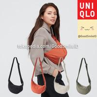 UNIQLO WOMEN TAS BAHU MINI ROUND SELEMPANG SLING BAG WAIST BAG JASTIP