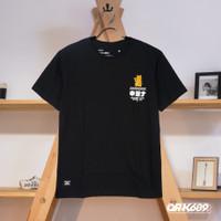OR-K689 Baju Kaos Pria Lucky Distro Black