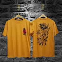 Kaos Distro Samurai Wanita Naga/T-Shirt Pria Wanita /Kaos Keren