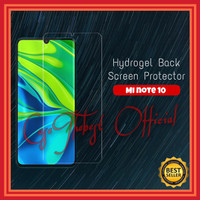 XIAOMI MI NOTE 10 / 10 PRO ANTI GORES CLEAR SCREEN PROTECTOR HYDROGEL