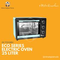 Oxone OX 7725 Oven Listrik Eco Series 25 Liter Biru
