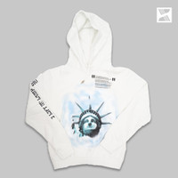 Off White FW 18 Liberty Jacket Hoodie 100% Authentic - S