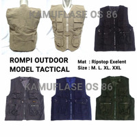 Rompi Outdoor lapangan body vest army tactical