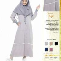 Rabbani Dresslim Aqia Gamis Baju Muslim Wanita Dewasa