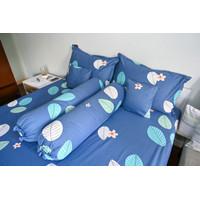 QUEEN - YATRA VALLEY Sprei Katun Jepang Motif Leven Cotton 160X200X35