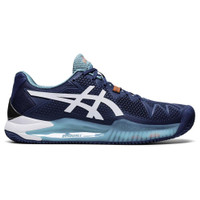 Sepatu Tenis Original Asics Gel Resolution 8 Clay Mako Blue 137621315