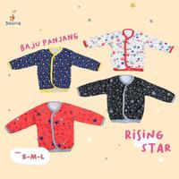 Blessing babywear-baju baby tangan panjang kancing depan-SZ_SML-RS