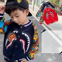 Jaket Anak Laki - Laki Bape Sweet Baby Lucu Import Premium Quality