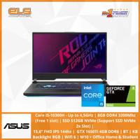Asus ROG Strix G G512LI-I565B6T-O - Black [i5 10300H-8GB-512GB-W10]