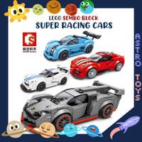 LEGO RACING CAR TRANSFORMERS MOBIL BALAP 2 IN 1