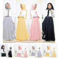 Baju Muslim Anak Hijab Tuwice Kids Usia 8-9-10-11-12 Tahun