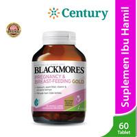 Blackmores Pregnancy Breastfeeding Gold 60's / Suplemen Kehamilan