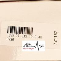 BAN DALAM SEPEDA | TUBE POLYGON Uk. 27.5 X 2.10 - 2.40 FV (PRESTA)