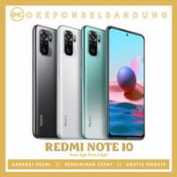 xiaomi redmi note 10 [ Ram 4 64 ] resmi [ segel box no repack ] Black