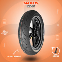 Ban Tubles Motor YAMAHA NMAX SOFT COMPOUND MAXXIS MA-R1 120/70 Ring 13