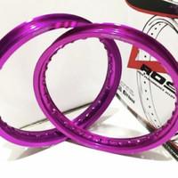 velg rossi ring 14 jari jari set 140 160 sepasang depan belakang - Ungu, 140x160 14
