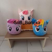 Bantal Kepala Boneka My LITTLE PONY By Seulgi , Boneka Kuda Pony