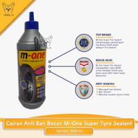 Cairan anti ban bocor Super Tyre Sealant 350 ml [M-One] Top Brand MURI
