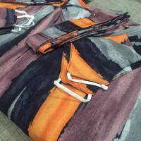 gamis wanita jumbo murah baju muslim maxi dress - RINJANI - Purplee, All Size