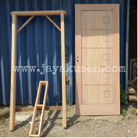 kusen dan pintu kayu mahoni