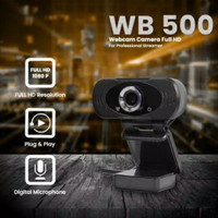 Webcam WB500 Web Camera 1080P Full HD M-Tech