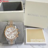jam tangan MK MICHAEL KORS combi rose gold original