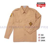 Baju Pramuka Penggalang SD SMP SMA Lengan Panjang - Seragam Sekolah