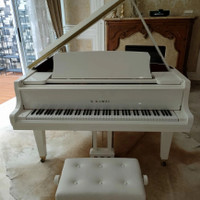 Piano Baby Grand K.Kawai GL-10 Putih