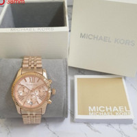 jam tangan MK michael Kors rose gold original box