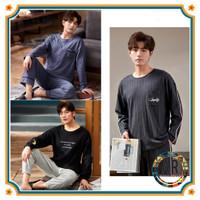 Baju Tidur Piyama Setelan Remaja Laki-laki Dewasa Import/Baju Tidur