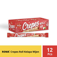 Roma Crepes Roll Kelapa Wijen