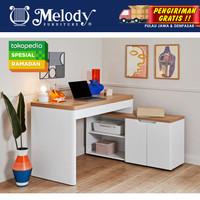 Furniture Meja Kerja Meja Komputer Libre C 155 - WH-MTH