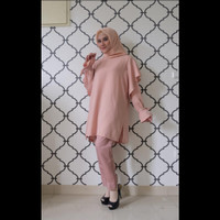 Asfa Tunik Atasan Wanita Lengan Panjang by Meemaa Style