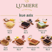 DISKON KUE ASIX LUMIERE CAKE LU'MIERE TERMURAH