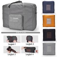Tas Travel Organizer / Foldable Travel Bag / Travel Handbag Lipat - 1