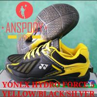 SEPATU BADMINTON YONEX HYDRO FORCE 5 YELLOW/BLACK/SILVER