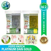Koyo Kaki Bamboo Foot Patch Gold Original / Koyo Detox