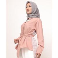 Denna Shirt Atasan Wanita Lengan Panjang by Meemaa Style