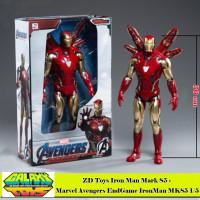 ZD Toys Iron Man Mark 85 - Marvel Avengers EndGame IronMan MK85 1/5