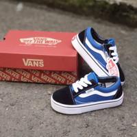 Sepatu anak Vans Old school Navy Blue (PREMIUM) Size 20-35