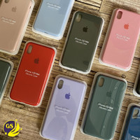 SILICONE CASE ORIGINAL APPLE IPHONE X XR XS XS MAX SILICON BACK COVER