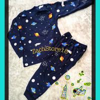 piyama kaos anak/baju anak setelan 1-6 tahun