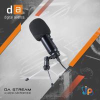 Microphone Gaming Digital Alliance DA Stream Mic Condenser/ Podcast