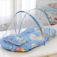 kasur lipat kelambu set baby bayi kasur bayi dengan kelambu set baby