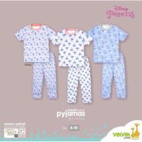 Piyama Velvet Junior Lengan Pendek Celana Panjang 2 - 10 Tahun GIRL